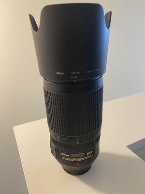 Nikon 70-300 VR Lens for Sale in Aurora, IL