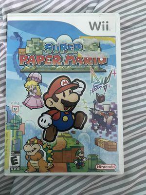 Super Paper Mario for Nintendo Wii for Sale in Oceanside, CA