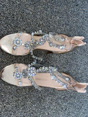 Gem stone rose gold heels for Sale in San Diego, CA