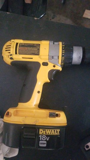 Dewalt 18v XRP 3 speed hammer drill with battery for Sale in Richardson, TX