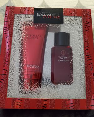 Brand New Victoria's Secret Bombshell Intense Lotion & Mist Gift Set for Sale in Dallas, TX