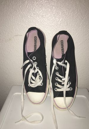 Converse sz men's 5, women's 7 double tongue for Sale in Spring, TX