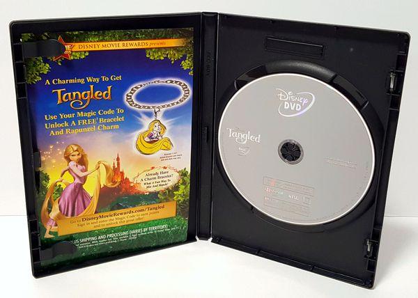 Tangled Disney DVD movie disneys tangled dvd