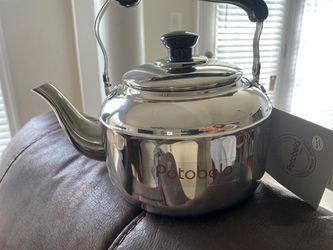 Portobello Italia Stainless Steel Tea Pot for Sale in Gainesville,  VA
