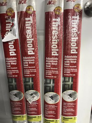 """Threshold Adjustable Aluminum 36"""" (4) Available $10 Each You Must Pickup for Sale in New Ringgold, PA"""
