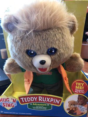 Teddy Ruxpin toy for Sale in San Antonio, TX
