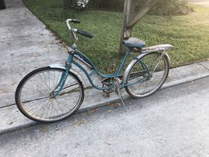 vintage unrestored'59-'61 western sonic - flyer bicycle for Sale in Conroe, TX