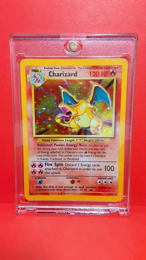 POKEMON CHARIZARD HOLOGRAM 90'S CARD COLLECTIBLE LIMITED EDITION for Sale in Houston, TX