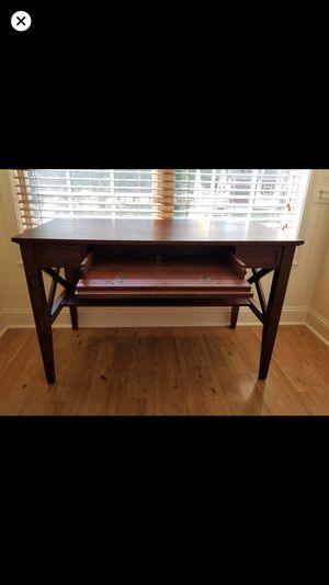 Cherry wood desk for Sale in Gainesville, GA