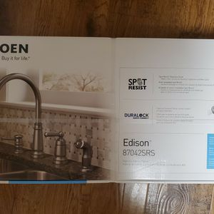 Brand New Moen Kitchen Faucet Stainless Finish for Sale in Auburn, WA