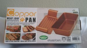 Copper Meat Loaf Pan for Sale in Diamond Bar, CA