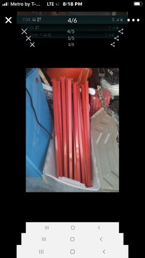 Metal legs for shelving unit for Sale in West Palm Beach, FL