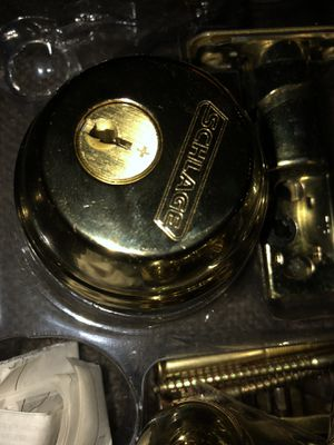 Schlage deadbolt set for Sale in Woodbridge, VA