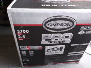 Brand new simpson commercial pressure washer. 3700 psi for Sale in Kissimmee, FL