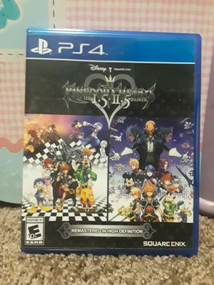 Kingdom Hearts 1.5 &2.5 Remix - PS4 for Sale in San Diego, CA