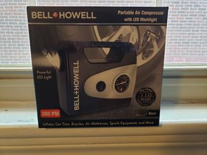 Bell and Howell portable air compressor for Sale in McKeesport, PA