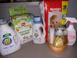 BABY DIAPER AND SOAP BUNDLE for Sale in Riverdale, GA