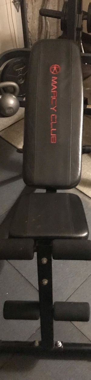 Home gym workout equipment, adjustable bench for Sale in Kent, WA