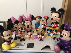 Lot of Mickey Mouse Minnie Mouse Toys for Sale in Dublin, OH