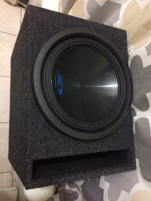 1800watt Alpine Type S12 in MDF slot ported box gold terminals for Sale in Washington, DC