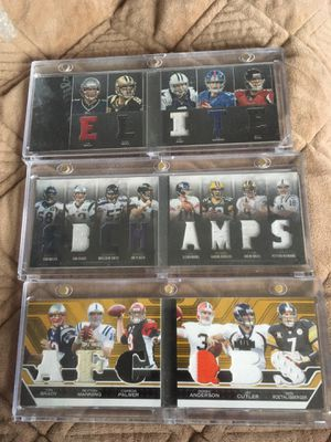 BRADY & OTHER QB'S all 3 are #'d MINT for Sale in Ashland, MA