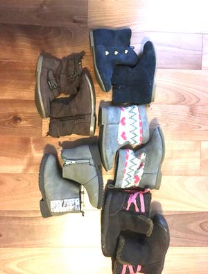 Toddler size 6 boots for Sale in Puyallup, WA
