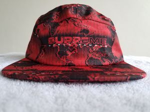 SUPREME Taped Seam World Famous Camp Cap Red, Authentic, Brand New, S/S 2018 for Sale in Miami, FL