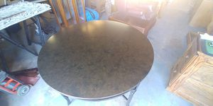 Price Reduced...surface scratches..Round breakfast nook table for Sale in Georgetown, TX