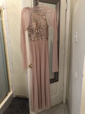 Sequin blush formal dress for Sale in Plano, TX