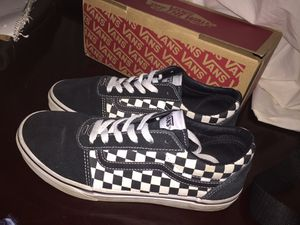 Black and white checkered vans for Sale in Richland, WA