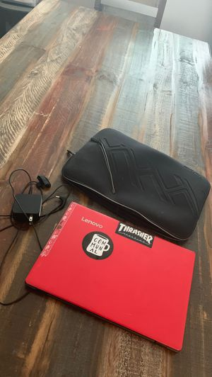 Lenovo laptop with charger and bag for Sale in Chula Vista, CA