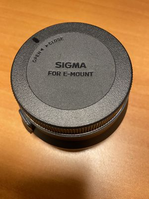 Sigma MC-11 Mount Converter for Sony E-Mount camera for Sale in Chandler, AZ