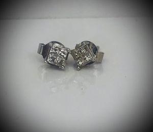 Pierre Lang 14Kt White Gold Diamond Stud Earrings for Sale in Miami, FL