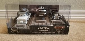 Disney Store Cars Toon Mater Private Eye Die Cast Cars for Sale in Wilsonville, OR