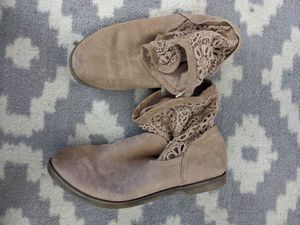 Justice Big Girl Boots sz 7 for Sale in Montclair, CA