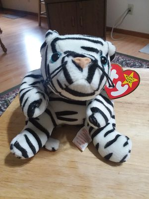 Ty beanie baby Blizzard the tiger for Sale in US