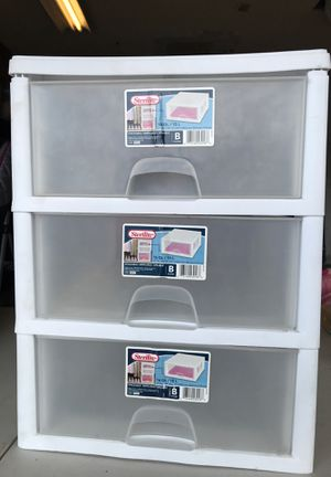 Sterilite Plastic Drawer for Sale in Glendale, AZ