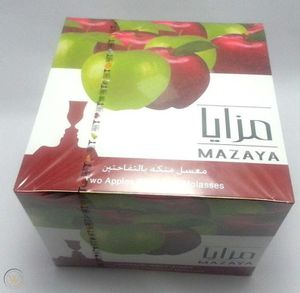 2 boxes Mazaya double apple flavor for Sale in Trabuco Canyon, CA