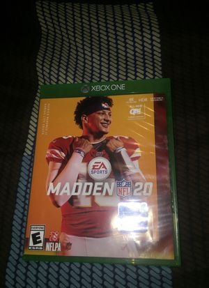 Xbox one Madden 20 for Sale in Madison Heights, VA