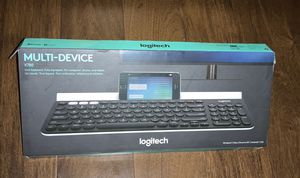 Logitech K780 Multi-Device Keyboard w/ protective cover for Sale in Beverly Hills, CA