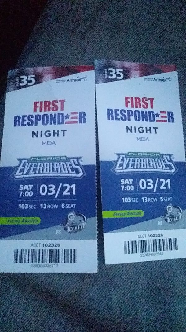 Everblades Tickets