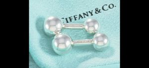 Tiffany's Barbell Sterling Silver Cufflinks Menswear for Sale in Santa Monica, CA