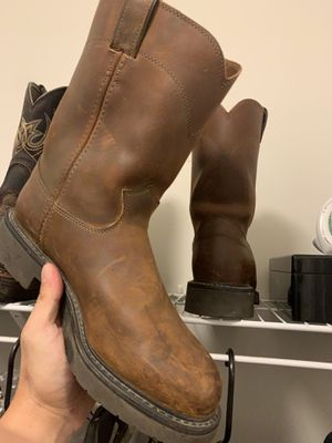 Justin work boots size 11 for Sale in Raleigh, NC