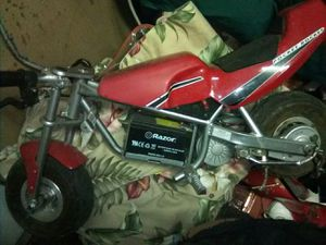 Pocket rocket razor mini bike for Sale in Las Vegas, NV