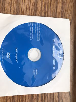 Dell laptop driver software cd disk new for Sale in Winter Springs, FL
