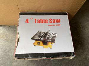"New 4"" Saw for Sale in Coupeville, WA"