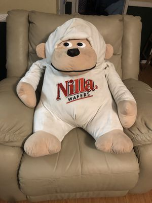 Nilla wafers stuffed monkey (advertising) for Sale in Plant City, FL