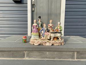 Antique Italian Porcelain Lamp for Sale in Englewood, NJ