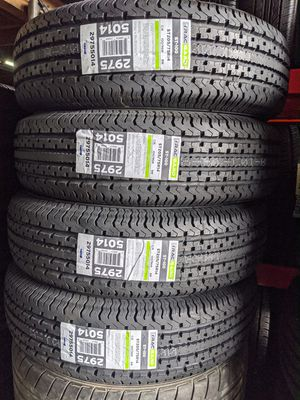 ST205/75/14 New Trailer Tires 6 Ply for Sale in Everett, WA