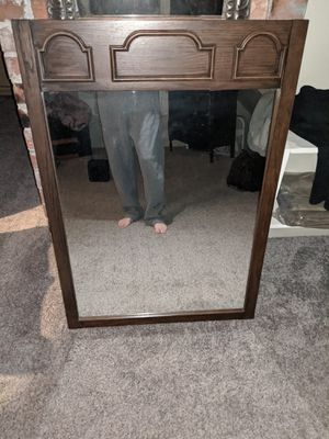 Large Antique mirror for Sale in Lawton, MI